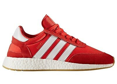 520583a8a5c2 Adidas Iniki Runner I-5923 Mens BB2091 Red White Gum Running Shoes Size 7