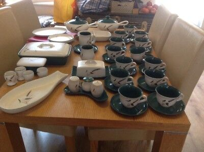 Denby 52 piece Greenwheat set in Excellent condition