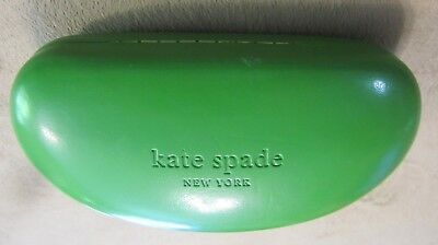 Kate Spade New York Green Sunglasses Case Large Clam Shell