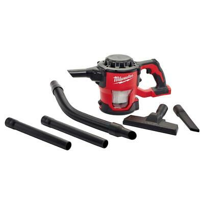 Milwaukee M18 18-Volt Lithium-Ion Cordless Compact Vacuum (Tool-Only)-0882-20
