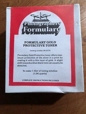 Photographer's Formulary Gold Protective Toner