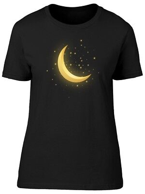 Crescent Moon With Bloom Women's Tee -Image by Shutterstock