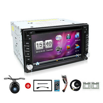 Car Video Radio Double 2Din Car DVD Player GPS Navigation In Dash PC CAM In Dash