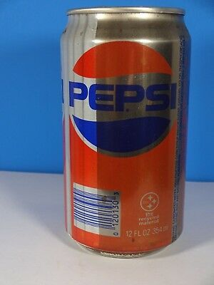 Pepsi Cola Steel Can Today's Texas Taste Somers NY 12 Oz