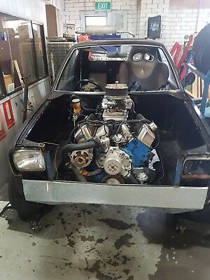 v8 mightyboy mighty boy 351 c4 twin carb burnout car