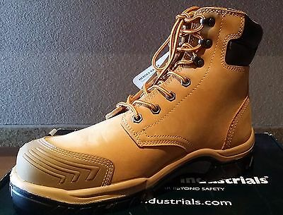 Steel Cap High Leg Safety Boot | Wheat | Lace Up | Bata Hero 502 | Brand New