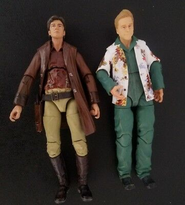 "Malcolm Reynolds Hoban Washburne 6"" Set Firefly loose Funko Legacy action figure"