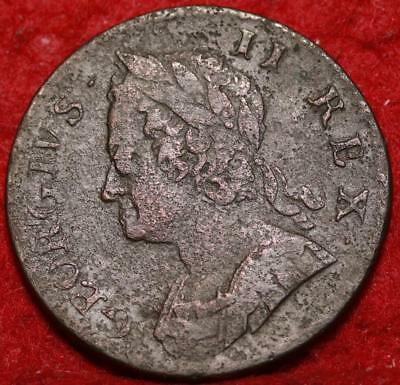 1749 Great Britain 1 Penny Foreign Coin