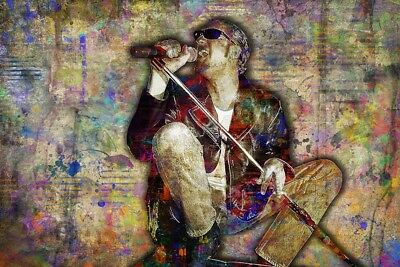 Layne Staley Alice In Chains Tribute Staley Pop Art 20x30inch Free Shipping