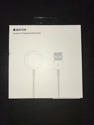 Genuine Apple Watch Magnetic Charging Cable 0.3m Brand New Sealed MLLA2AM/A