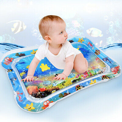 Baby Kids Inflatable Patted Crawling Water Pad Mat Cushion Toy Creative Play