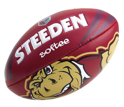 QLD Maroons State of Origin Softee Ball - Size 11""
