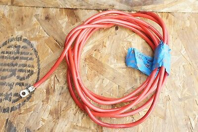 04-10 BMW E60 5 Series Battery Negative Terminal Ground Cable Wire ...