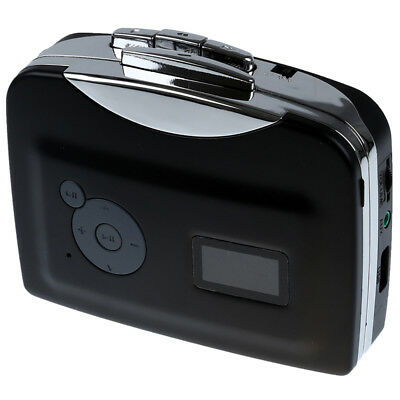Portable USB Cassette-to-MP3 Converter Capture directly to USB Flash Disc w P4U3