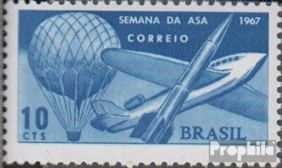 Brazil 1151 (complete.issue.) unmounted mint / never hinged 1967 Flugwoche
