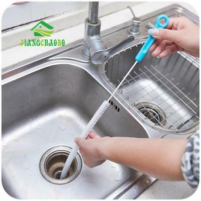 Cleaning Brush Home Bendable Sink Toilet Dredge Pipe Brush Kitchen Accessories