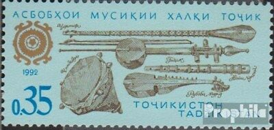 Tajikistan 3 (complete.issue.) unmounted mint / never hinged 1992 Musical Instru