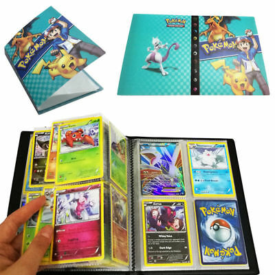 Pokemon Cards Album Book Card Collectors 180/240Pcs Capacity Cards Holder New