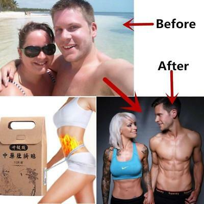 10 Sheets Strongest Weight Loss Slimming Diets Slim Patch Pads Detox Adhesive