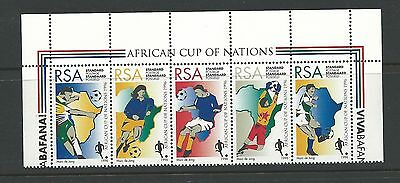 1996 Soccer set of 5 Complete Mint Unhinged as Issued