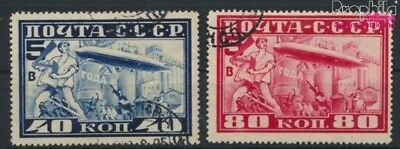 Soviet Union 390A-391A (complete.issue.) dentate L12,5 fine used / can (9172799