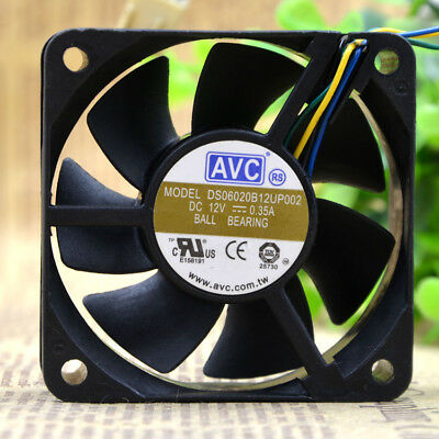 1PC new AVC DS06020B12UP002 6020 12V 0.35A