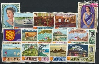 united kingdom - Jersey 7-21 (complete.issue.) unmounted mint / never  (9157989