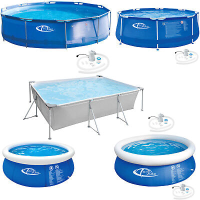 Piscina hinchable o desmontable rectangular/ redonda Swimming Pool Tubular