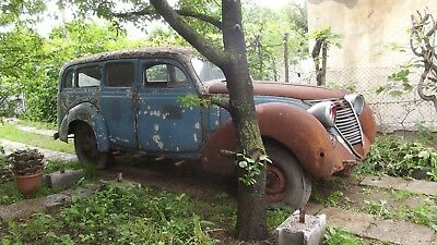 Fiat 2800 1940 1100 A 500A 2300 S coupe Abarth collectio restoration project
