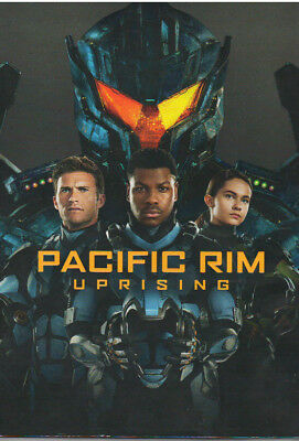 Pacific Rim Uprising (Dvd, 2018) New With Sleeve