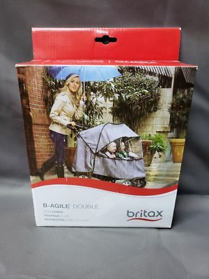 Britax B-Agile Double Stroller Wind and Rain Cover (E471)