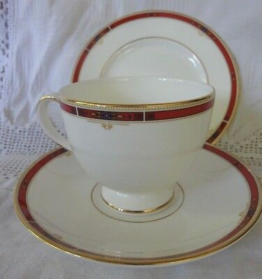 Wedgwood Colorado Trio - Tea Cup, Saucer and Plate (6 available)