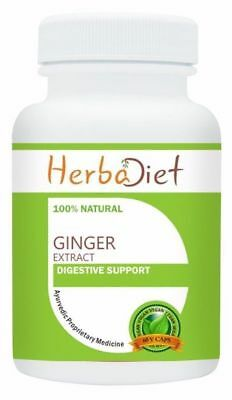Ginger Root Extract 500mg Pills Capsules Digestive Support Fights Inflammation