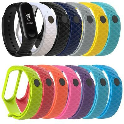 Sport Soft Silicone Replacement Wristband Wrist Strap For Xiao Mi Band 3