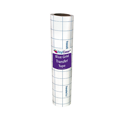 12 in x 8 ft Roll Clear Med Tack Transfer Tape with Easy Align Grid Cricut V0829
