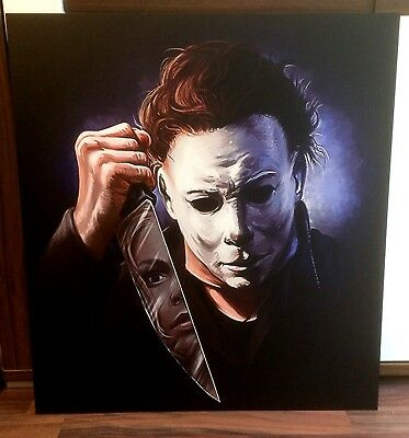 HALLOWEEN, MICHAEL MYERS, BILD/PICTURE 56x62