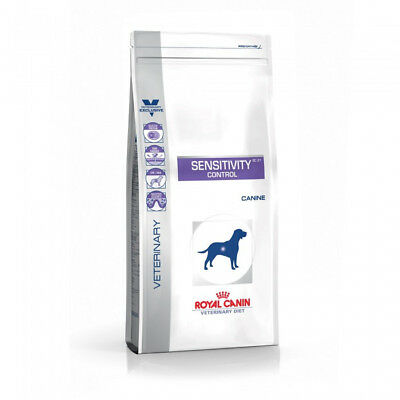 Croquettes Royal Canin Veterinary Diet Sensitivity Control pour chiens Sac 14 kg