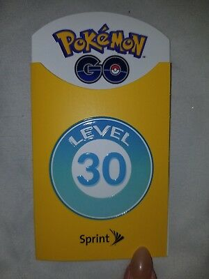 LAST ONE!🌟Brand New🌟Sprint Pokemon Go Level 30 Badges Patch. LIMITED EDITION!!