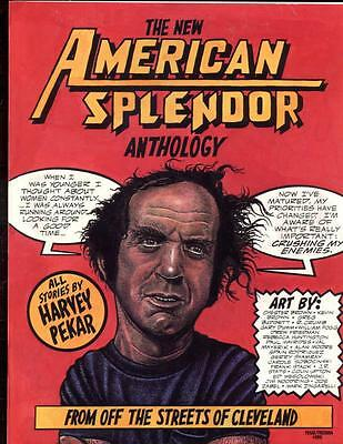 The New American Splendor Anthology     First Print     1991   Harvey Pekar