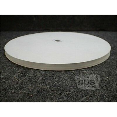 Box of 100 Honeywell 30755317-001 Circular Charts for Truline Recorder, 12""