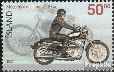 Iceland 1109 (complete.issue.) fine used / cancelled 2005 Motorcycles