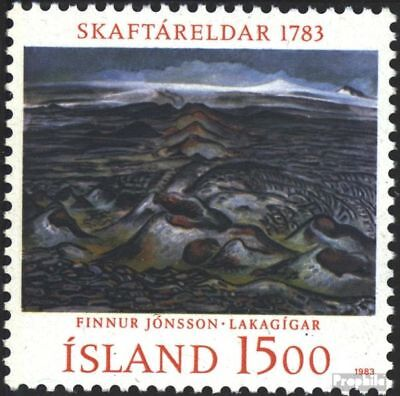 Iceland 602 (complete.issue.) unmounted mint / never hinged 1983 Laki-crater