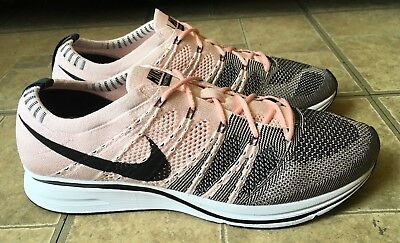 552ff91a3e065 ... coupon code for nike flyknit trainer sunset tint black white pink ah8396  600 men size 10