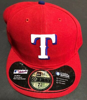 reputable site ad8ca a845b ... batting practice low profile 59fifty  texas rangers authentic new era  hat nwt 7 7 8 size official on field cap