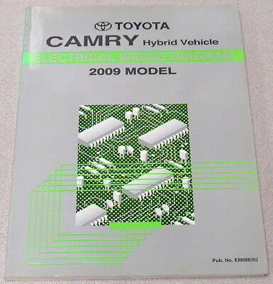 2009 toyota camry hybrid electrical wiring diagram service manual