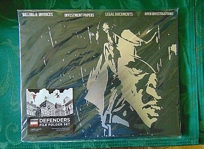 Loot Crate Exclusive Defenders File Folder Set Marvel