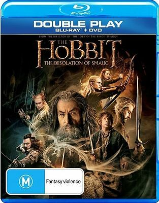 Hobbit - The Desolation of Smaug (Blu-ray Only 2014) VGC Pre-owned