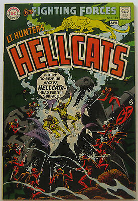 Our Fighting Forces #118 (Mar-Apr 1969, DC), VFN-NM, Lt. Hunter's Hellcats app.