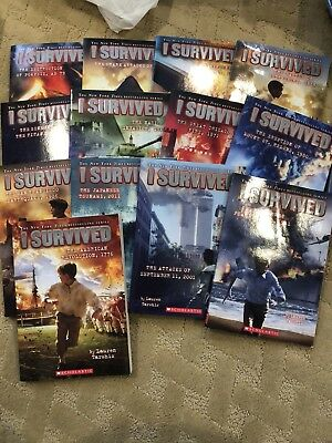 I Survived Book Lot of 13 books history homeschool