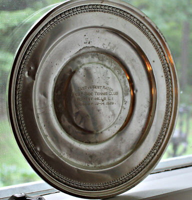 Historic Tennis Trophy West Side Tennis Club Forest Hills 1926 Sterling